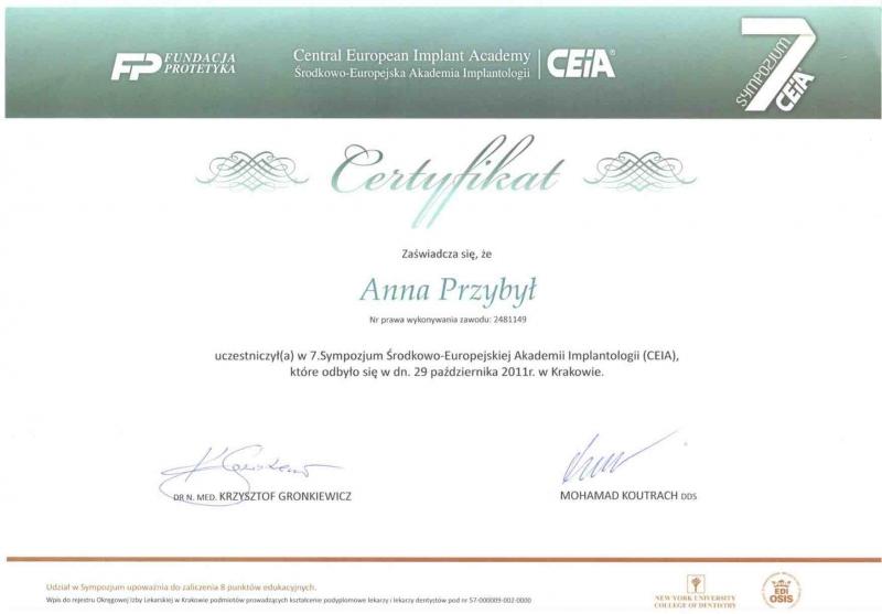 Anna Przybyla, implantologia 1 copy