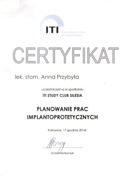 Anna Przybyla, implanty 2
