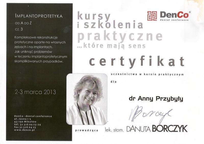 Anna Przybyla, implanty 3