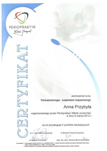 Anna Przybyla, periodontologia 1 copy