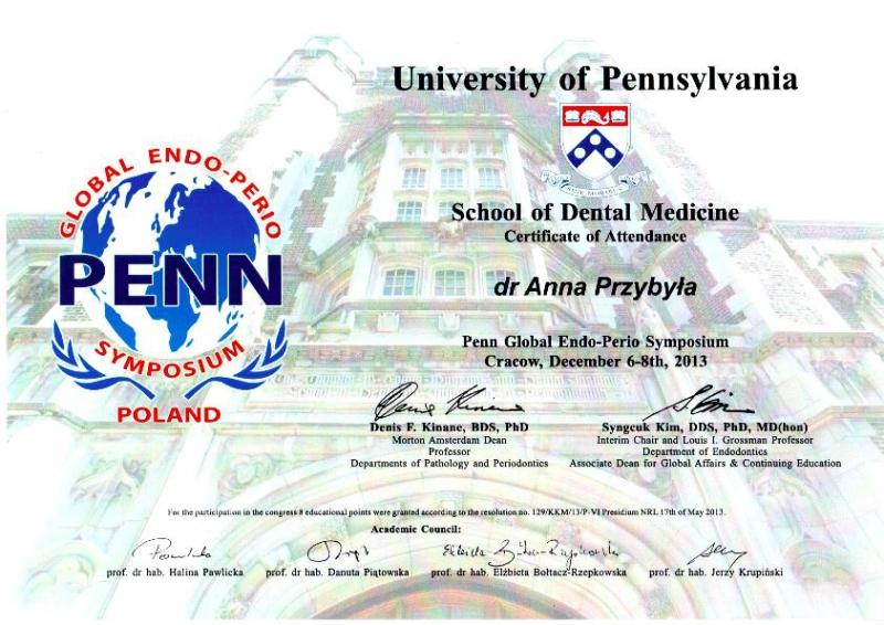 Anna Przybyla, periodontologia 2