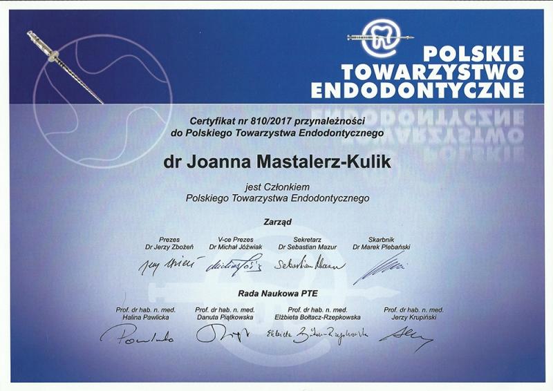 Joanna-Mastalerz-Kulik-Polskie-Towarzystwo-Endodontyczne