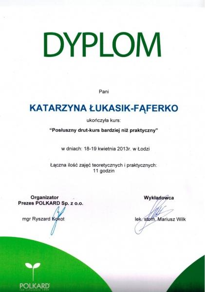 Katarzyna Lukasik-Faferko, ortodoncja 11