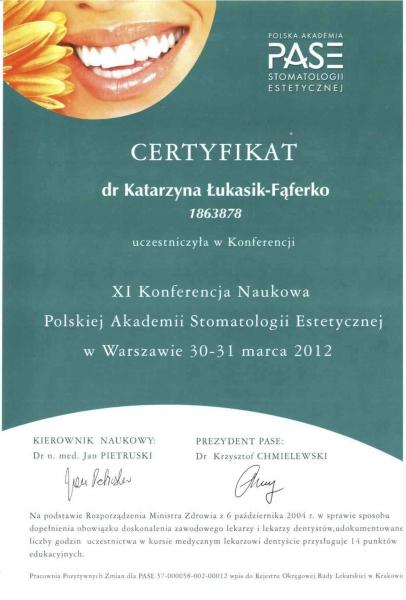 Katarzyna Lukasik-Faferko, stomatologia estetyczna 1 copy