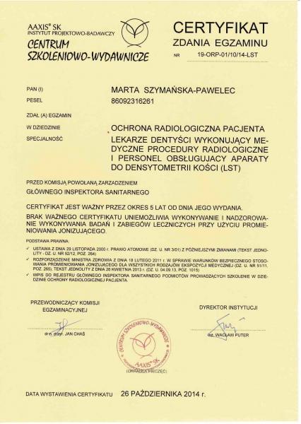 Marta Szymanska-Pawelec, diagnostyka 1 copy