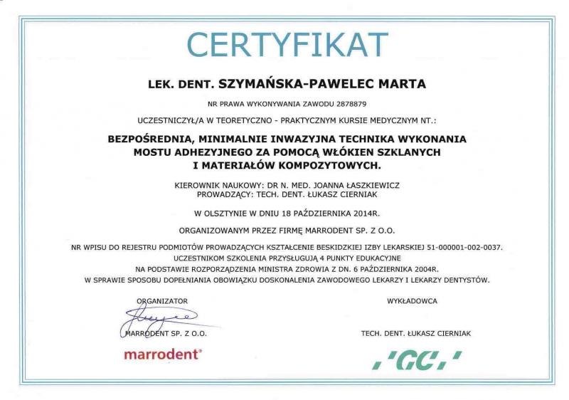 Marta Szymanska-Pawelec, endodoncja 3 copy