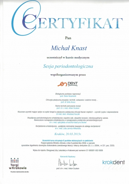 Michal-Knast-periodontologia