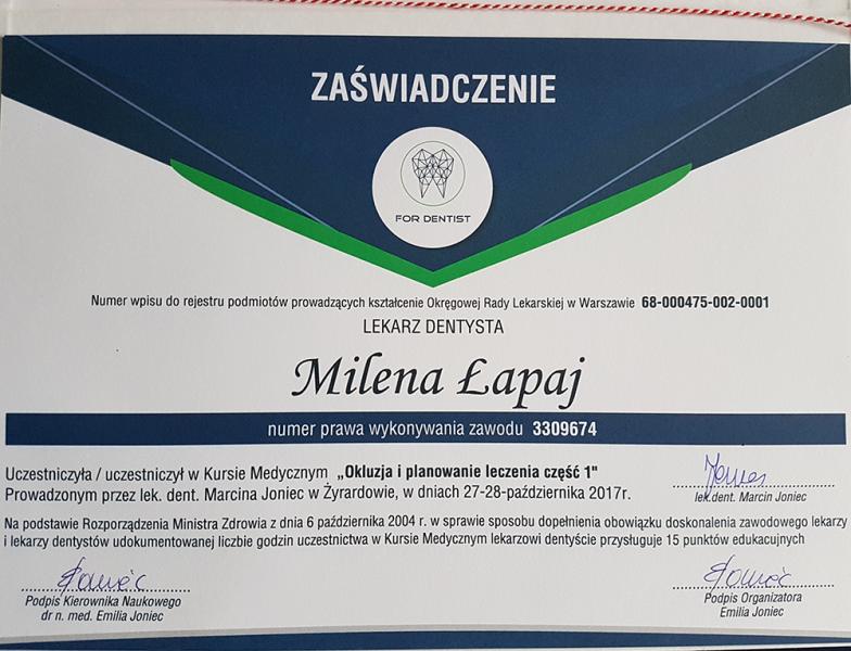 Milena-Lapaj-okluzja