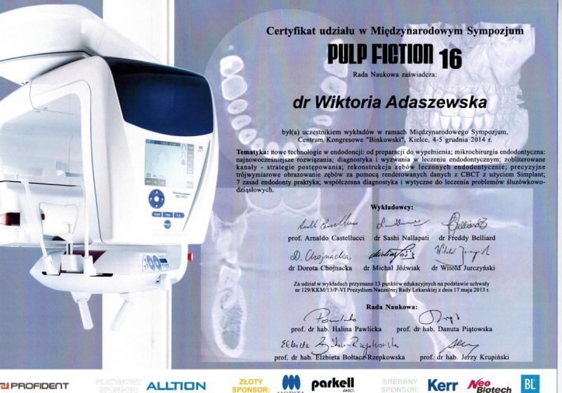 Wiktoria Adaszewska Dentim Clinic Katowice 1