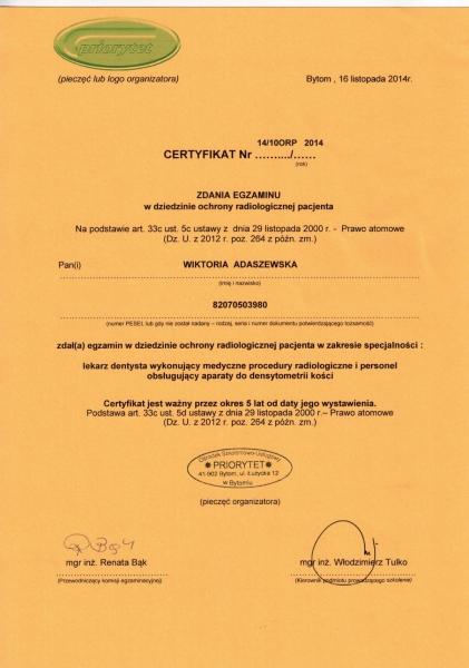 Wiktoria Adaszewska Dentim Clinic Katowice 2