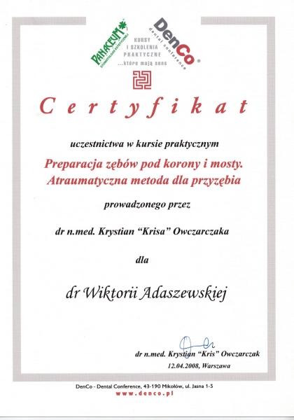 Wiktoria Adaszewska Dentim Clinic Katowice 6