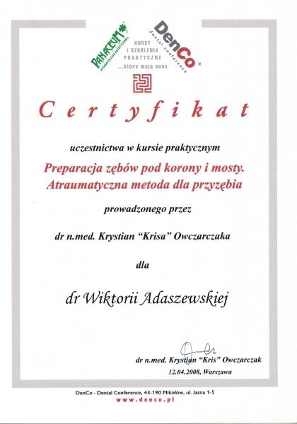 Wiktoria Adaszewska Dentim Clinic Katowice 7