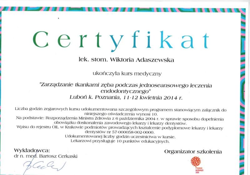 Wiktoria Adaszewska Dentim Clinic Katowice 8