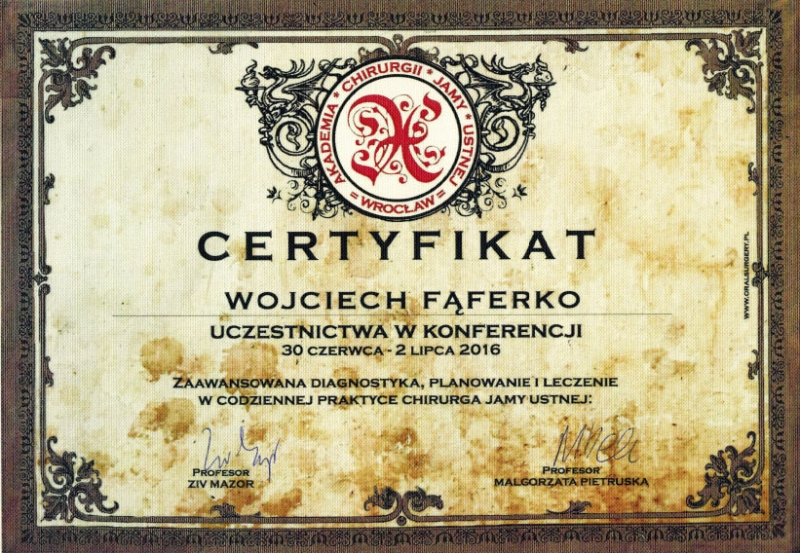 Wojciech-Faferko-chiruriga-stomatologiczna