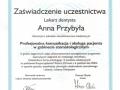 Anna Przybyla, obsluga