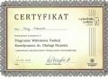 Certyfikat - Anna Labuzek