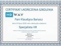 Klaudyna Barszcz - Specjalista HR