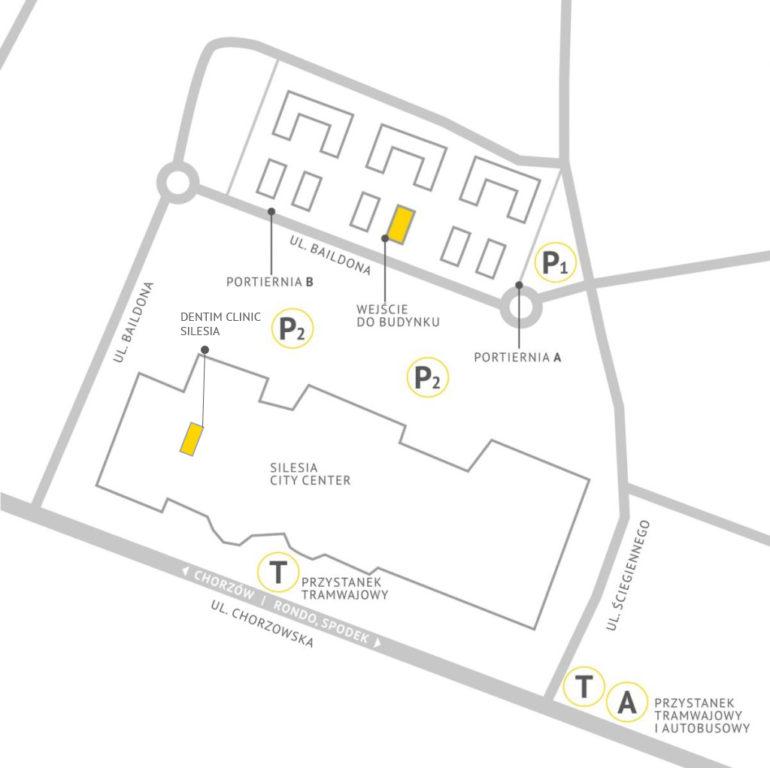 Mapa parkingu