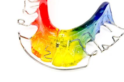 aparat ortodontyczny dla dzieci, ruchome aparaty