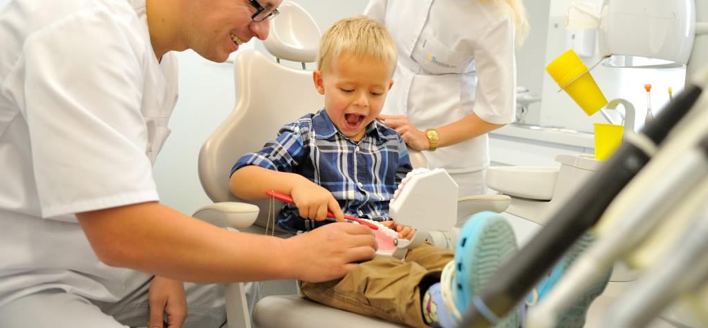 wizyta adaptacyjna w Dentim Clinic 2