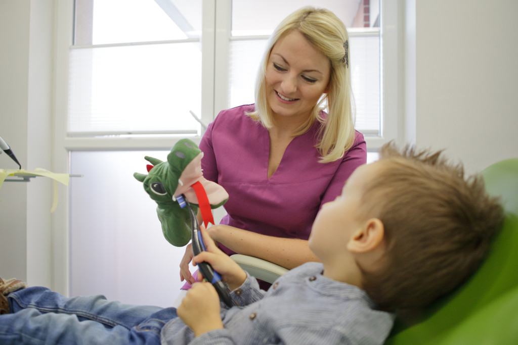 wizyta adaptacyjna w Dentim Clinic