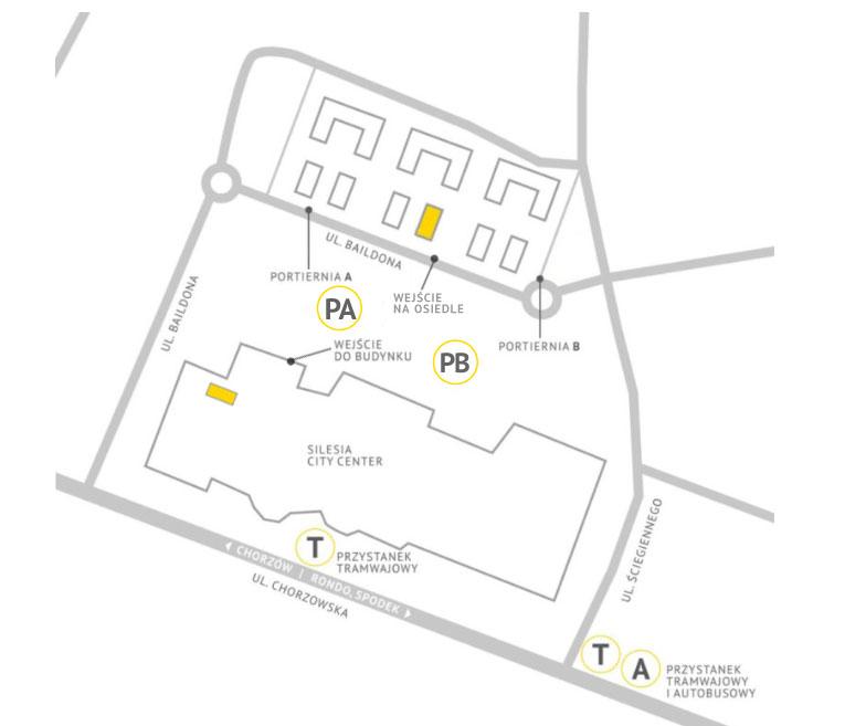 Dentim Clinic - mapka zSCC iDębowymi Tarasami